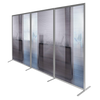 Modular Wave Screen Office Partition