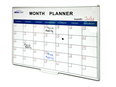 VisionChart Perpetual Month Planner