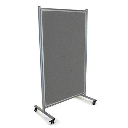 Modulo Mobile Pinboard Office Partition: 1800 x 1000