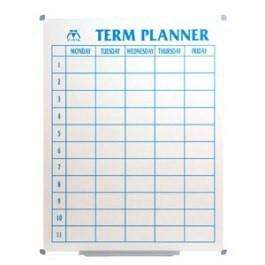 Vista Porcelain Term Planner