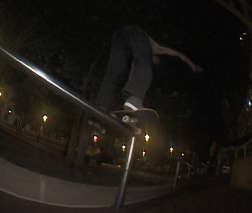 """Critter"" Sydney heads in the states.- Filmed by Murray MacLean. 