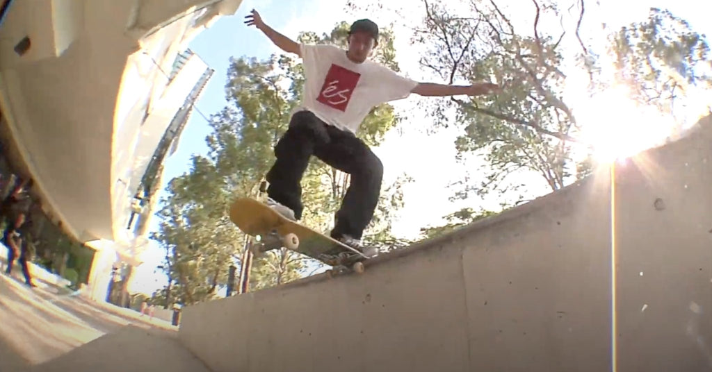 Kaine Rogers Part for éS Skateboarding | Parliamentskateshop