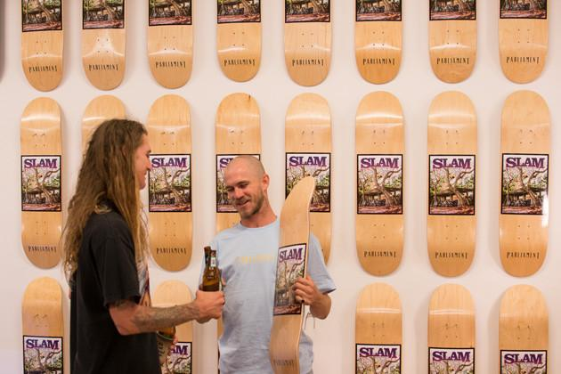 Slam Summer issue release party | Parliamentskateshop