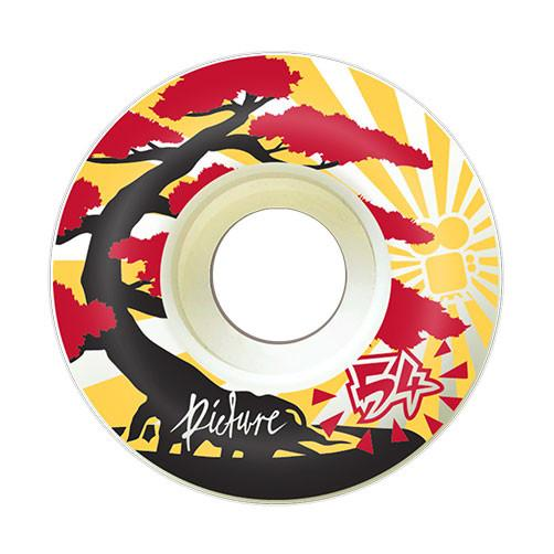 "Picture Wheel Co - 80A Soft Street ""Kushi"" Wheels 54mm - Parliamentskateshop"