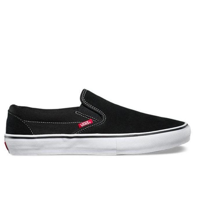 Vans - Slip On Pro (Black/White) - Parliamentskateshop