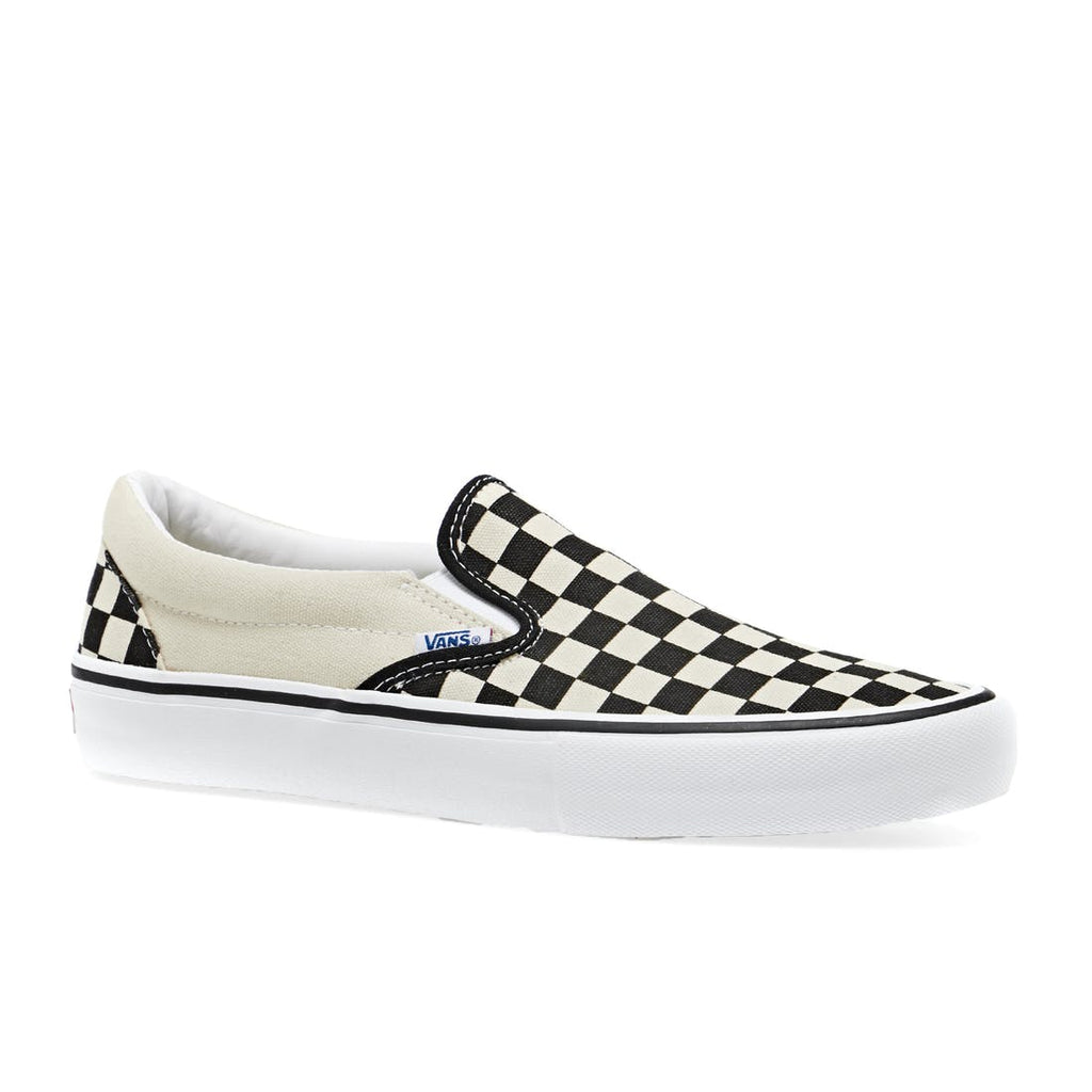 Vans - Slip On Pro Checkerboard (Black/White) - Parliamentskateshop