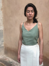 KORA knot top - green - Lantoki