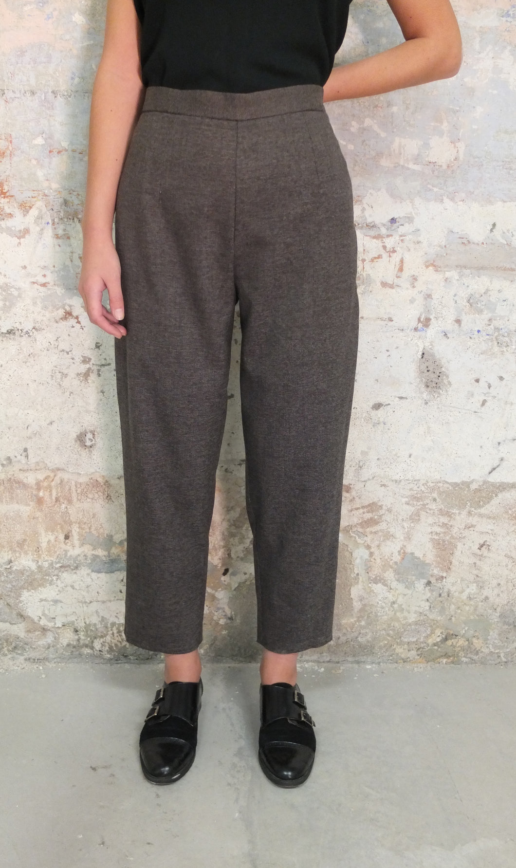 Trousers, Pantalones, Barcelona, Lantoki, Fashion, Black, Negro, Brown, Marrón, shop online, tienda online