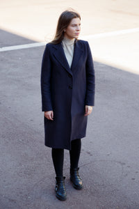 Luze coat blue - Lantoki