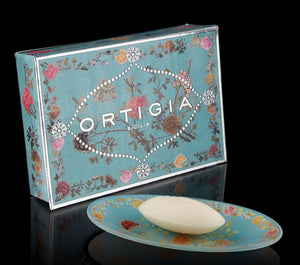 Glass plate & Soap FLORIO