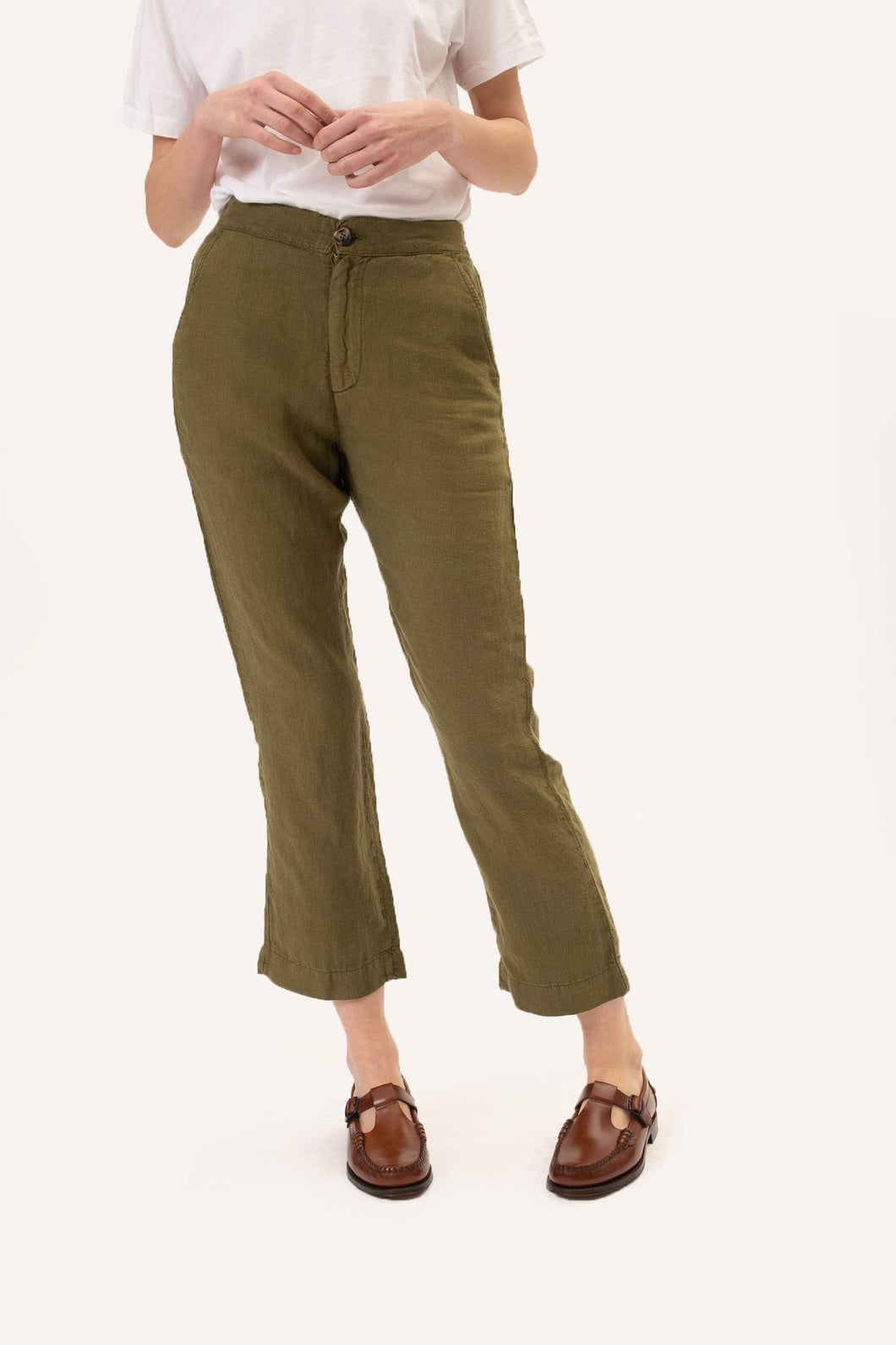 The inti pants DARK GREEN Mundaka