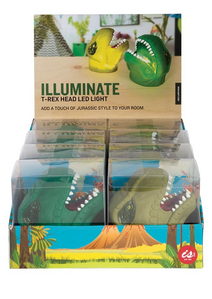 Illuminate Dinosaur T-Rex Head LED Light - Work Home Play