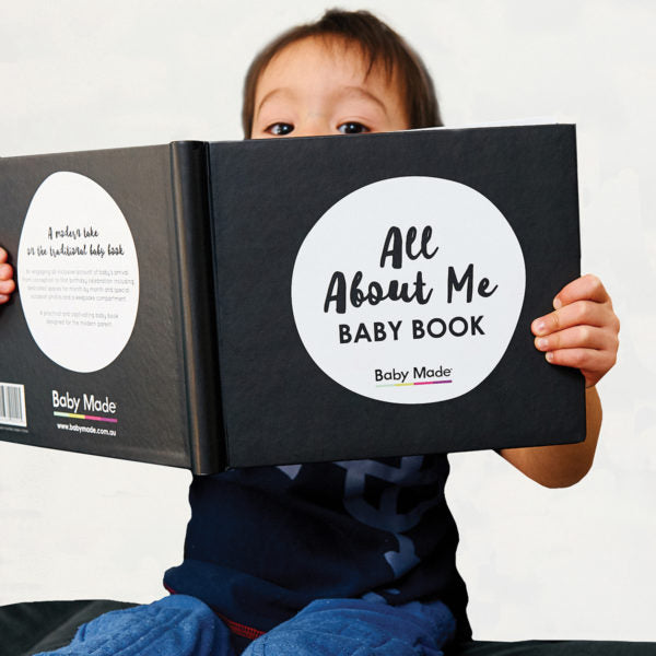 All About Me BABY BOOK - Work Home Play