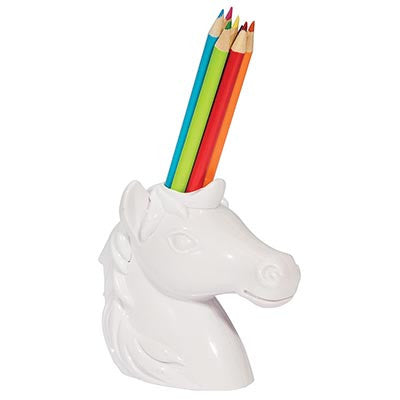 Unicorn Pencil Holder - Work Home Play