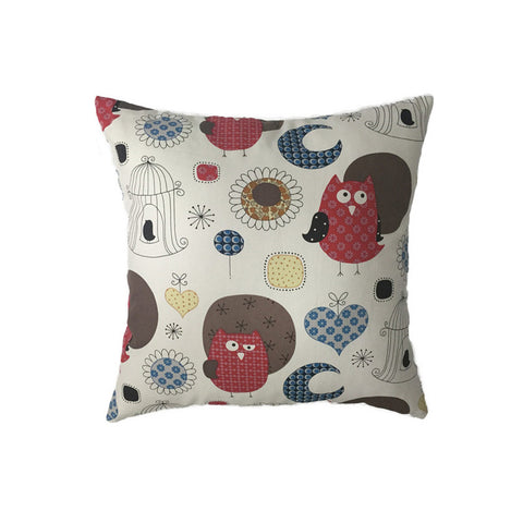Cushion - Night Owls, Pink - Work Home Play
