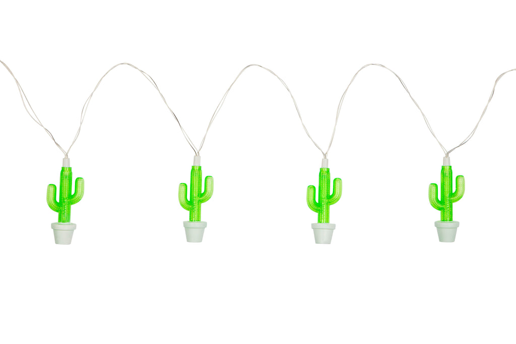 String Fairy Lights - Cactus - Work Home Play