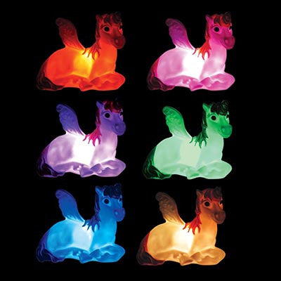 Colour Changing Unicorn LED Light - Work Home Play