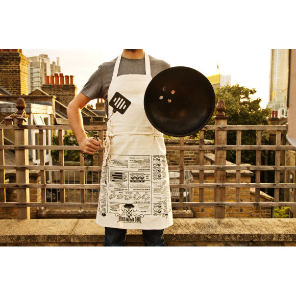 BBQ Apron - Cooking Guide - Work Home Play