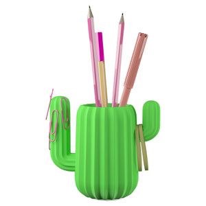Cactus Pen Pot - Work Home Play