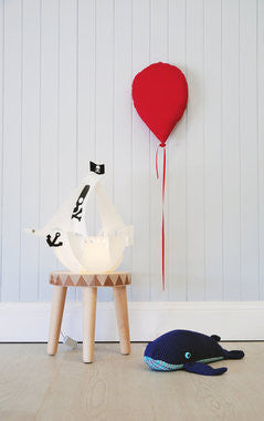 Pirate Ship LED Lamp - Work Home Play