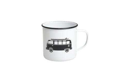 Enamel Mug - Combi Van - Work Home Play