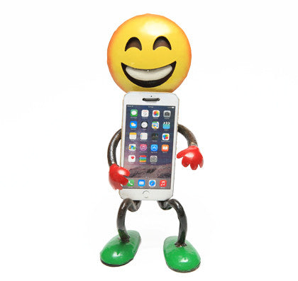 Mobile Phone Holder - Smiley - Work Home Play