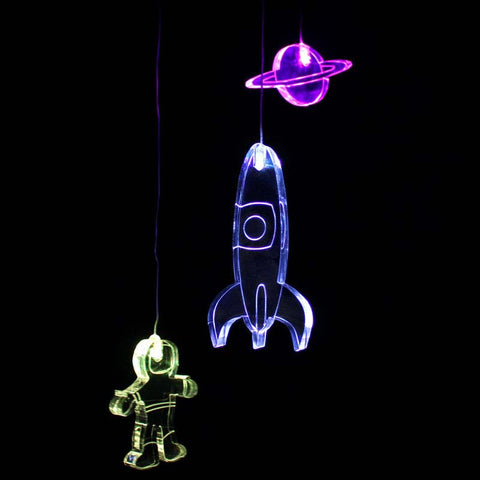 Acryllic Mobile Spaceman - Work Home Play