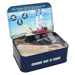 Gift in a Tin; Make your Own Pirate Ship