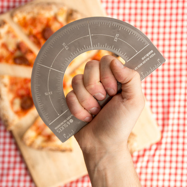 Protractor Pizza Cutter - Work Home Play