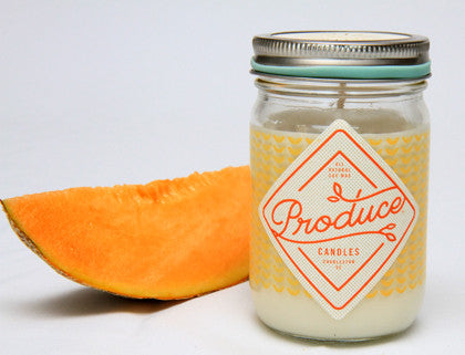 Candle Soy Wax - Melon Produce - Work Home Play