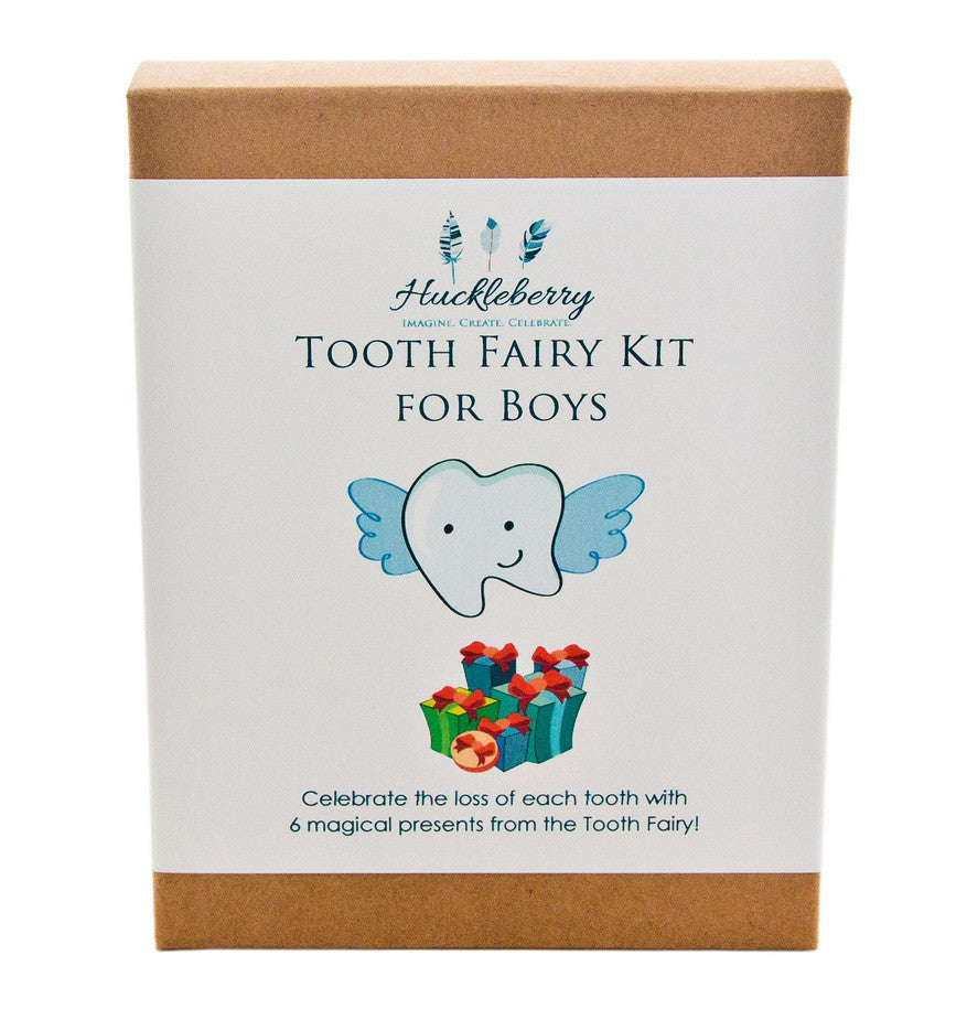 tooth fairy kit for boys | work home play | unique gift ideas