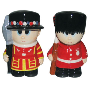 Salt & Pepper Shaker Set - Tower Guard - Work Home Play