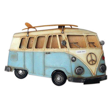 Wall Plaque - Kombi - Work Home Play