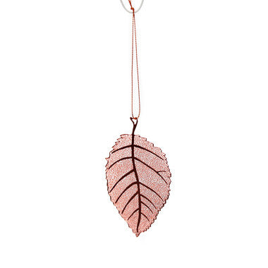 Copper Elm Leaf - Work Home Play