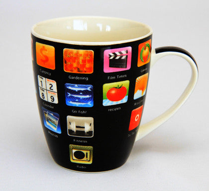 Apps - Ceramic Mug - Work Home Play