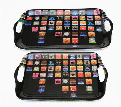 Apps - Melamine Tray Set - Work Home Play