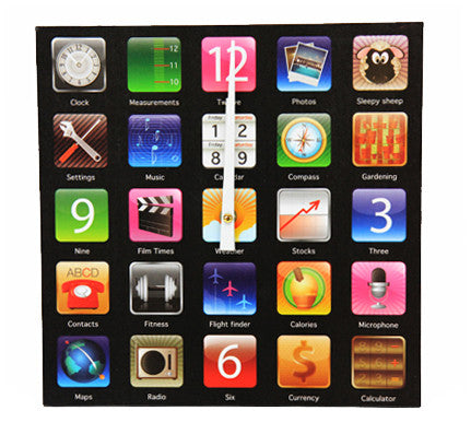 Apps Wall Clock