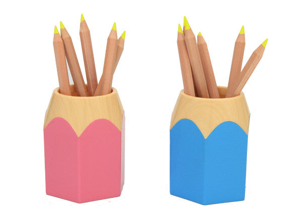 Pencil Holder - Pink - Work Home Play