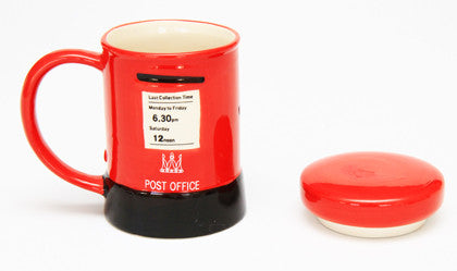 Novelty Mug - Red British Post Box