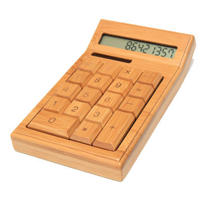 Bamboo Solar Calculator - Work Home Play