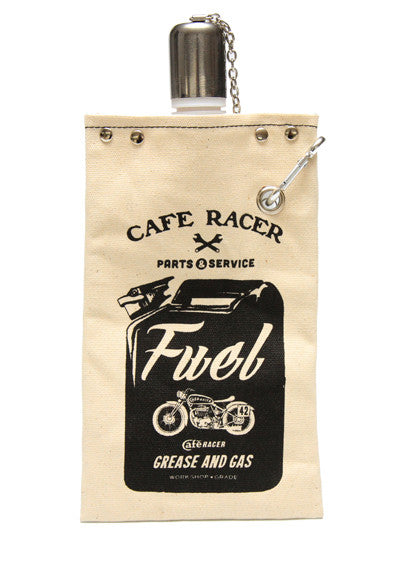 Cafe Racer - Canvas Water Tote - Work Home Play