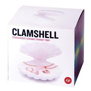Clamshell Trinket Tray - Work Home Play