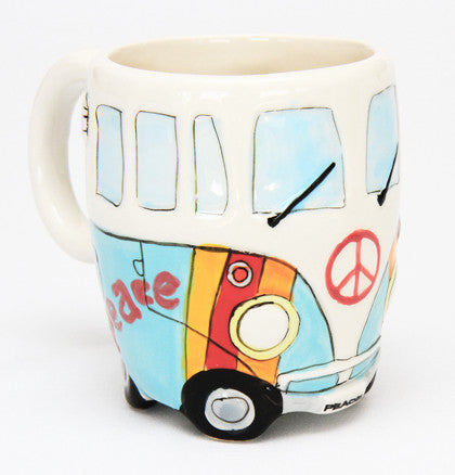 Novelty Mug - Blue Kombi