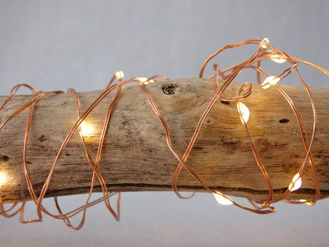 String Lights - Copper Wire (10 metres) 100 LED Electric - Work Home Play