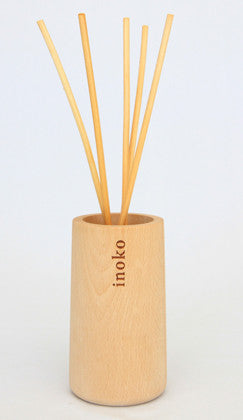 Timber Vessel & Reed Fragrance Diffuser - Bamboo & White Lily - Work Home Play