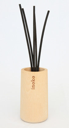 Timber Vessel & Reed Fragrance Diffuser - Oriental Orchid & Musk - Work Home Play