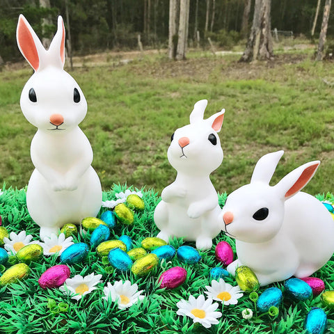 Easter gifts work home play unique gift ideas easter bundle 3 pack bunny rabbits night lights negle Images