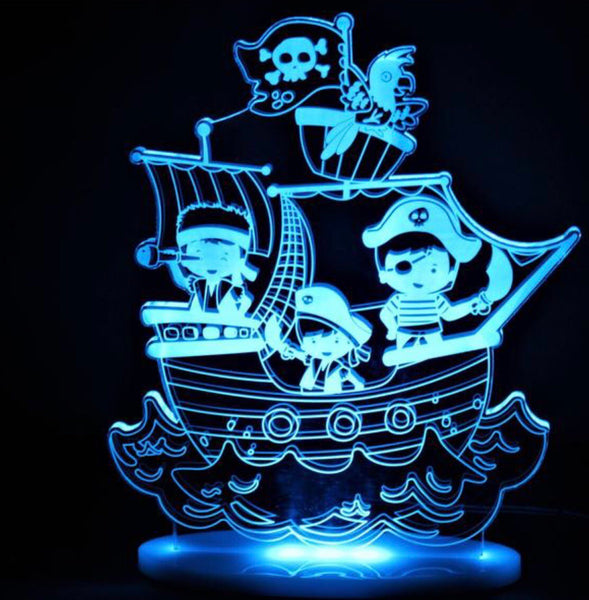 My Dream Light - Pirate - Work Home Play