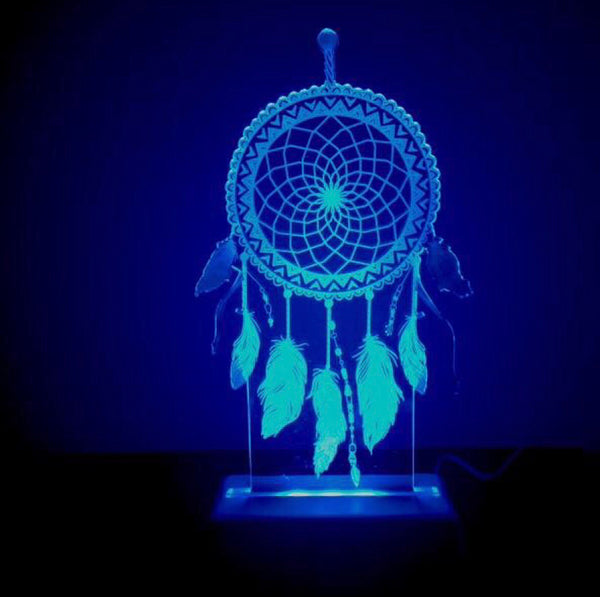 Night Light Dream Catcher - Work Home Play