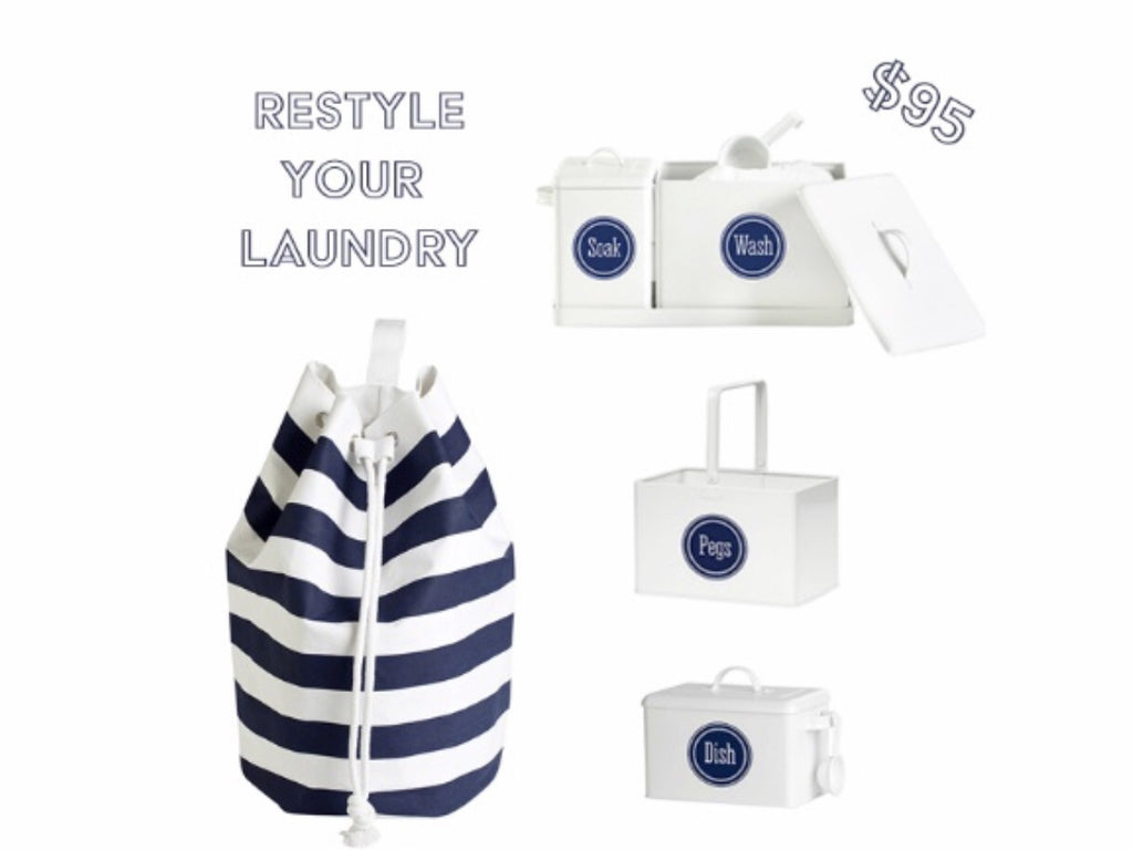 ReStyle your Laundry Kit - Work Home Play